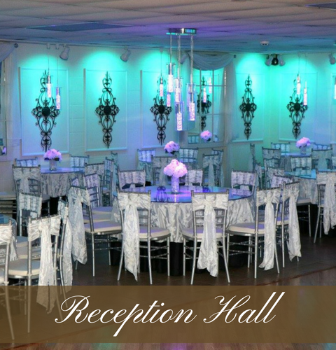 Click here to learn more about our reception hall