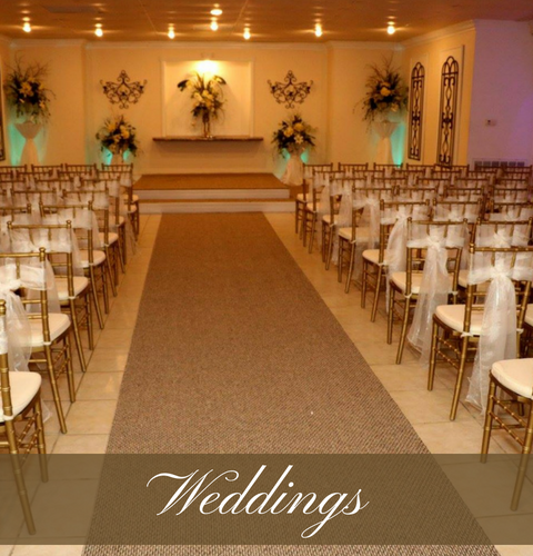 Click here to view our wedding services