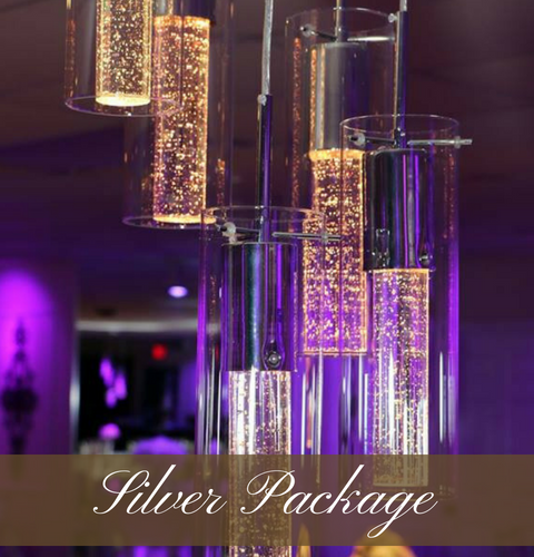Click here to view our silver wedding package