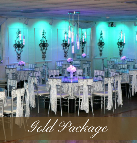 Click Here To View Our Gold Wedding Package